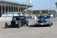 1931 Ford and 1971 Chevelle