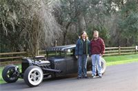 1931 Model A Sedan built by Father and Son