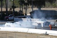 Justin and Ray at the Gainesville Raceway