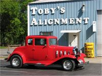 Bill Dorsey's 1932 Chevrolet; he has owned it for 51 years