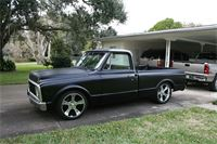 Ray's 1970 Chevrolet truck with 20