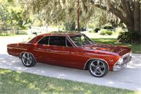 Ray's 1966 Chevelle with 18