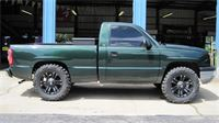 Jolie B.'s Chevrolet truck with 35'' Nitto Mud Grapplers on 20'' XD Rims