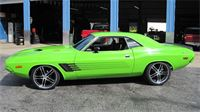 Mark P.'s 1973 Dodge Challenger with 20x8.5'' and 20x10'' XIX Machined and Chrome Rims